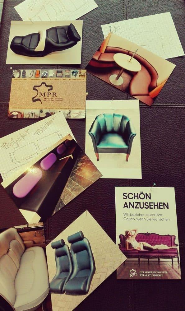 Collage unserer Ideen und Arbeiten